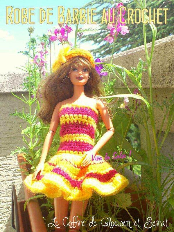 Robe de barbie au crochet - danser la salsa (2)