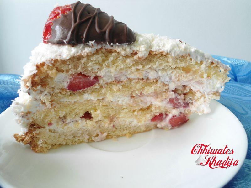 Fraisy coco cake part