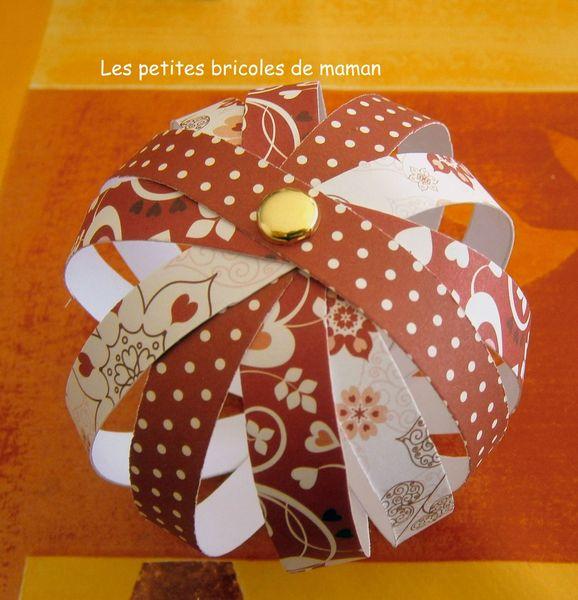 No l 2012 1 boules de no l en papier mesbidouilles81 - Fabriquer des boules de noel en papier ...