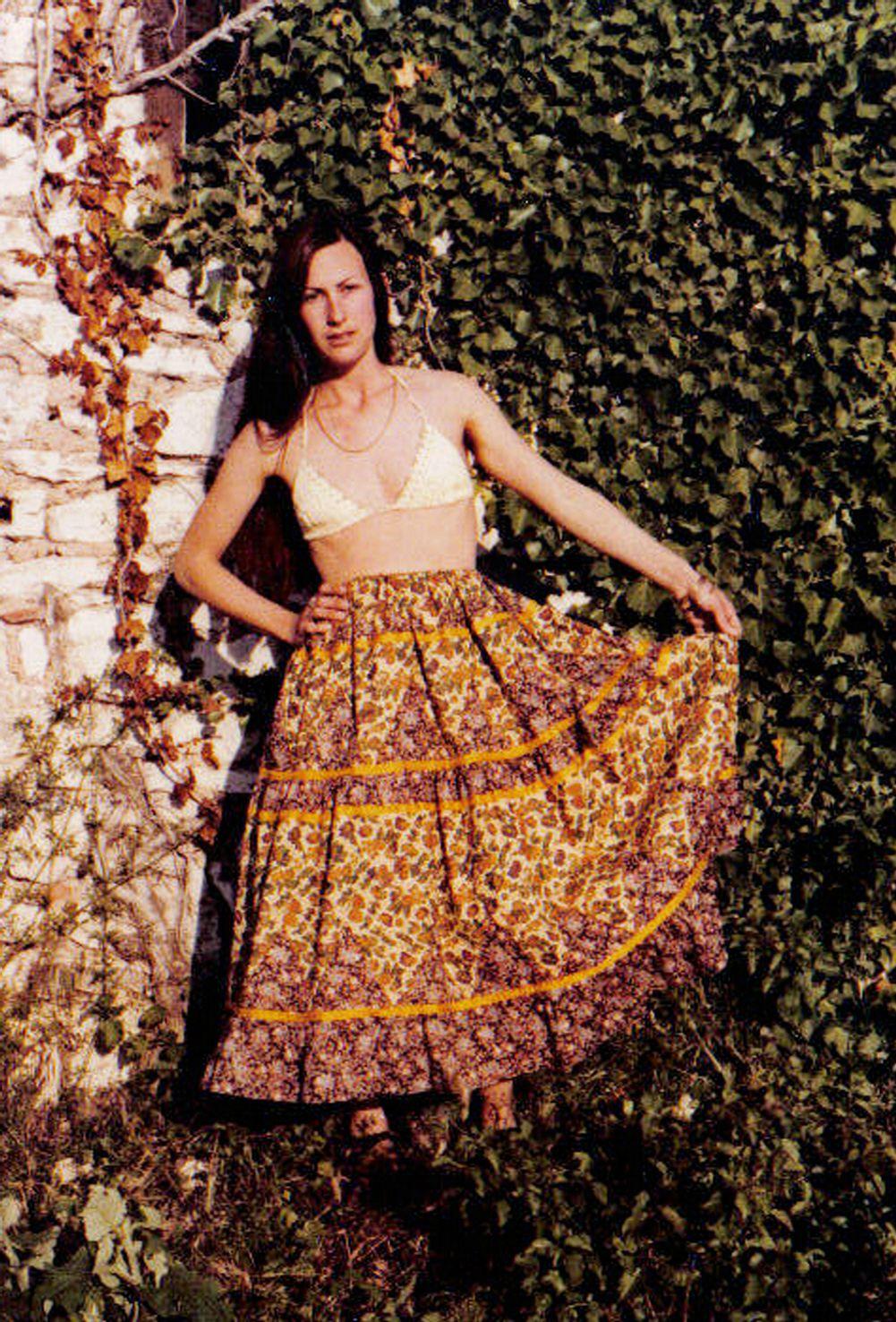 une jupe d'automne