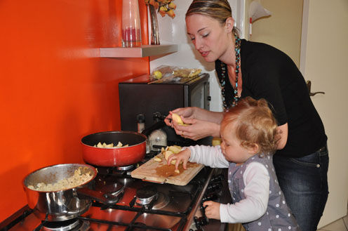 Aujourd 39 hui cuisine avec maman liloucrapouille for Maman cuisine x