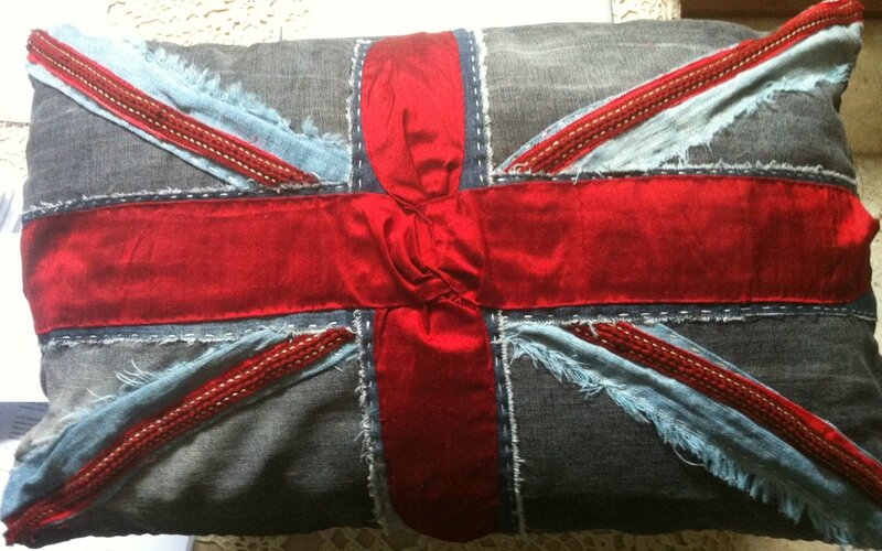 coussin jean + tapis 002