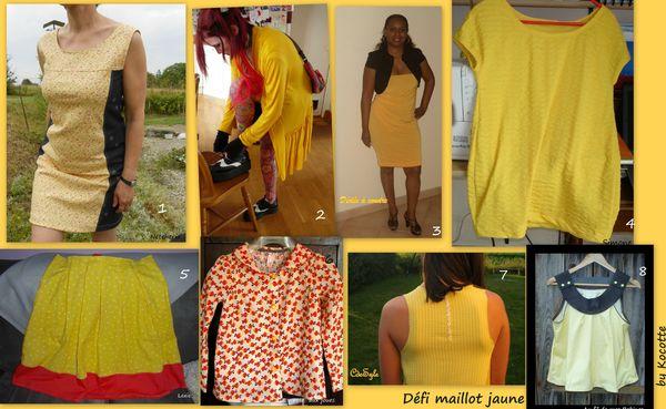 Défi maillot jaune