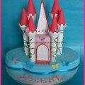Gâteau château dans les nuages !