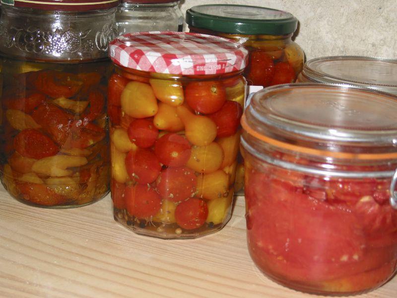 Conserves de tomates le jardin des petits lutins - Comment faire grossir les tomates ...