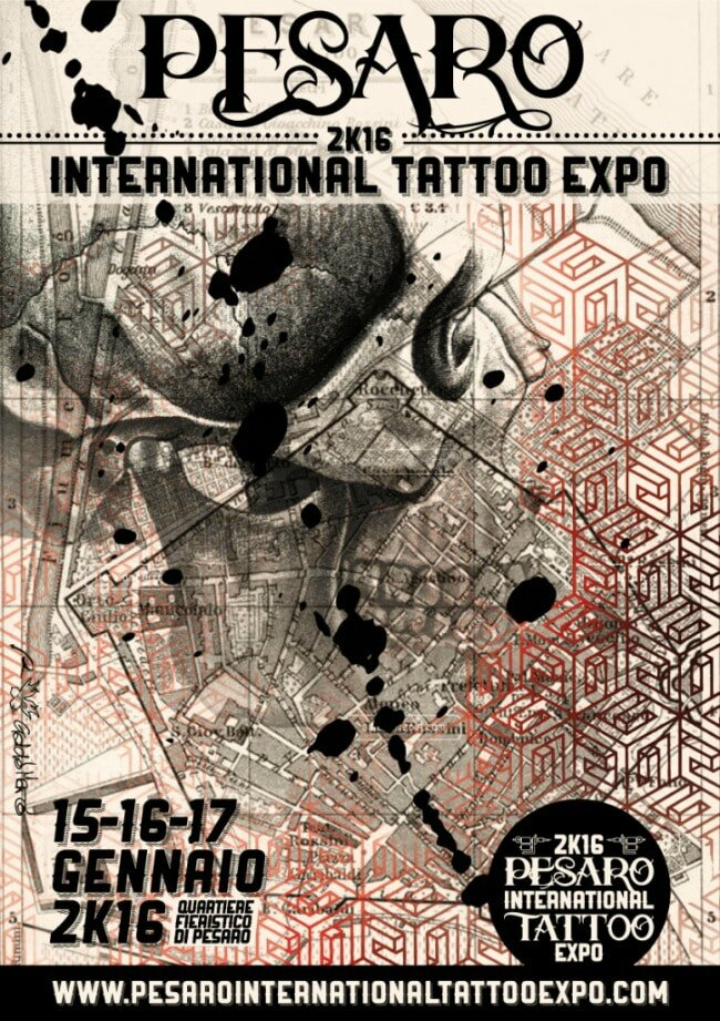 Expo Pesaro International Tattoo 15 - 17 Janvier 2016 Foires à Pesaro
