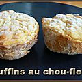 Muffins au chou-fleur