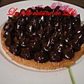 Tarte légère menthe chocolat