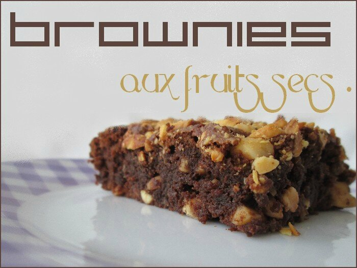 brownies aux fruits secs 1