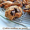 Cookies moelleux au yaourt