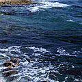 Littoral méditerranéen - Plage rochers mer Méditerranée