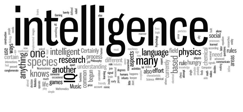 """"""" A -t-on déterminé l'ensemble des outils qui permettent de mesurer toutes les formes d'intelligence ? """""""