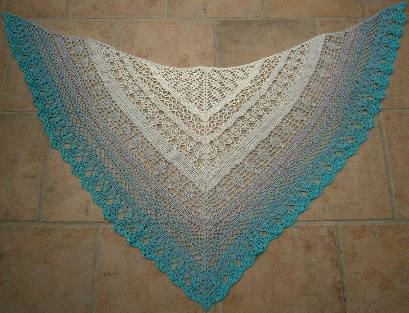 sac+2 châles+laine bordeaux 018