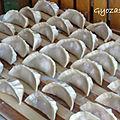 Gyozas (raviolis japonais)
