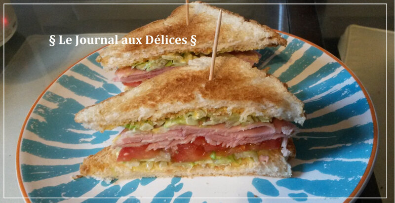 Club sandwich Jambon