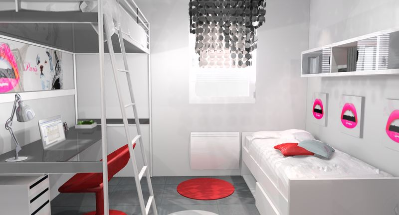 Am nagement d 39 une chambre ado design stinside for Chambre ado design
