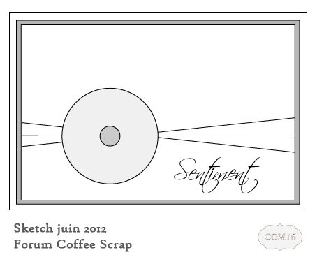 skecth coffe scrap