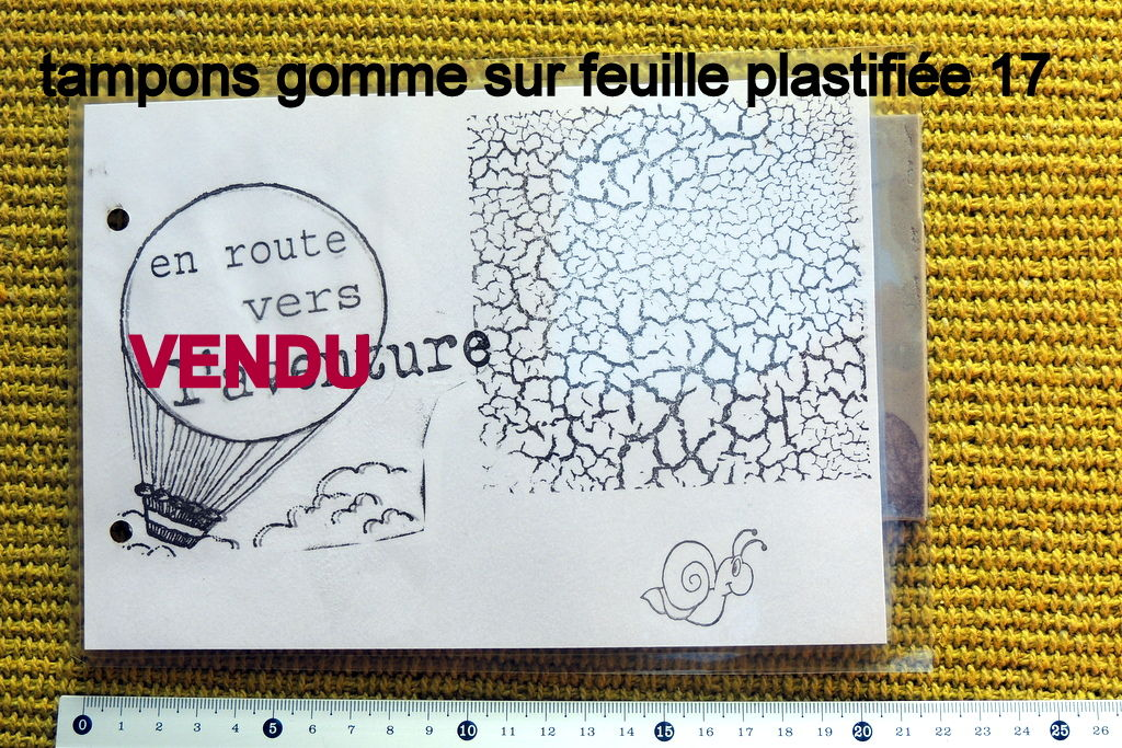 tampons gomme 17