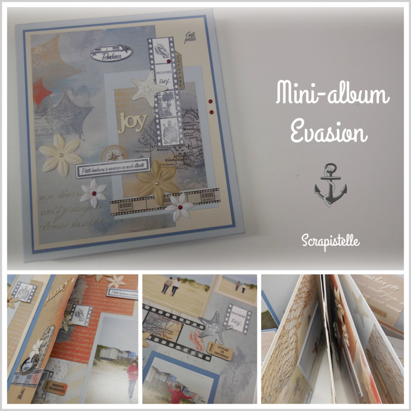 Visuel Mini-album Evasion Scrapistelle
