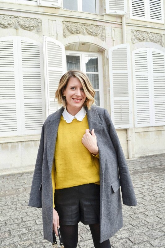 Preppy in yellow - Styl iz (5)