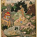 Cleveland museum of art acquires benkaim collection of deccan and mughal paintings