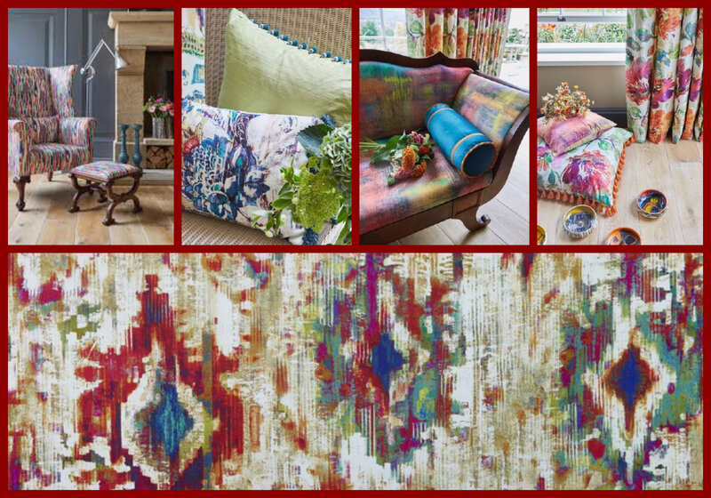 tissu bohemia collection decadence Prestigious textiles