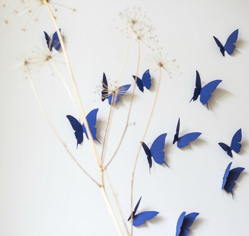 envolée papillons decoration murale chambre bébé enfant salonTRENDY LITTLE