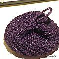 Fleur de douche/tawashi au crochet