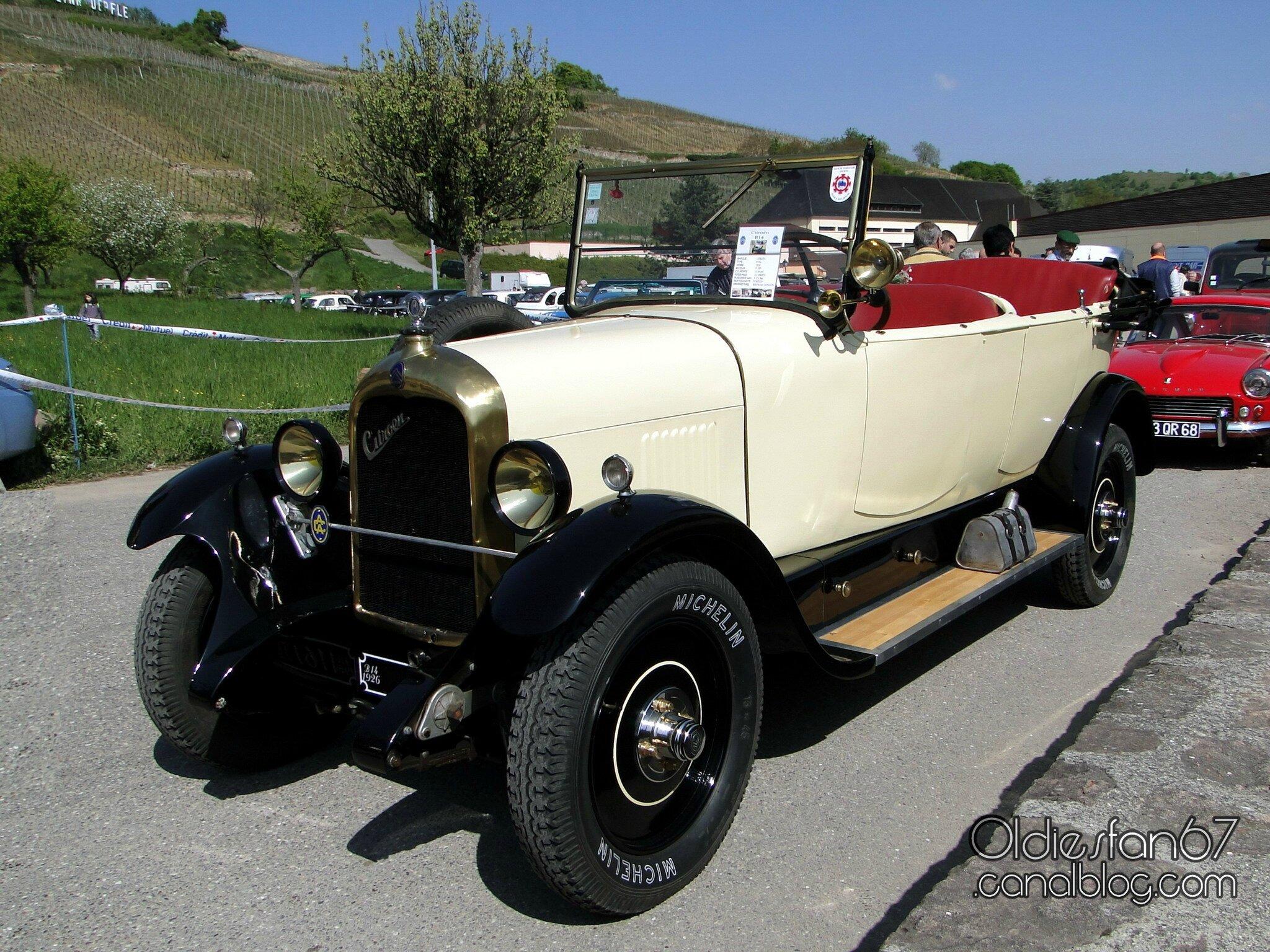Citro 235 N B14 Torpedo 1926 Oldiesfan67 Quot Mon Blog Auto Quot