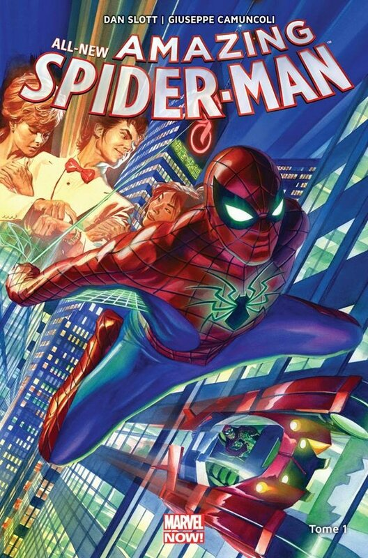 marvel now all new amazing spiderman 01