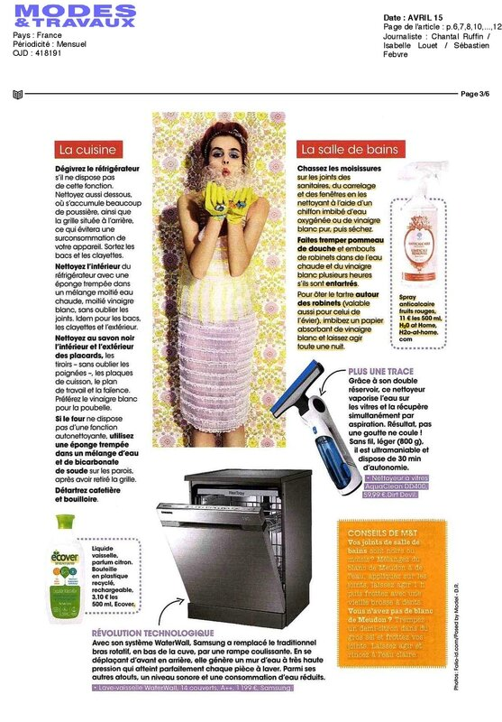 le gant d maquillant o comment se d maquiller l 39 eau st phanie conseill re h2o at home sur. Black Bedroom Furniture Sets. Home Design Ideas