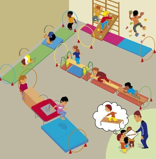 Education physique à l'école [Presse EPS 1]