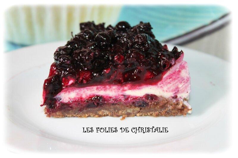 Cheesecake au cassis 4