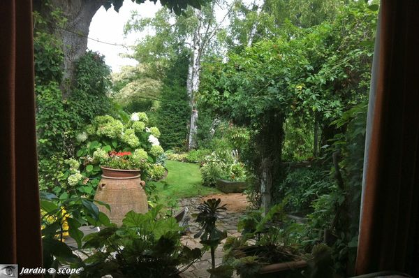 Le jardin de André EVE à Pithiviers