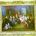 portrait du Duc Léopold et de sa famille en 1709attribué à J