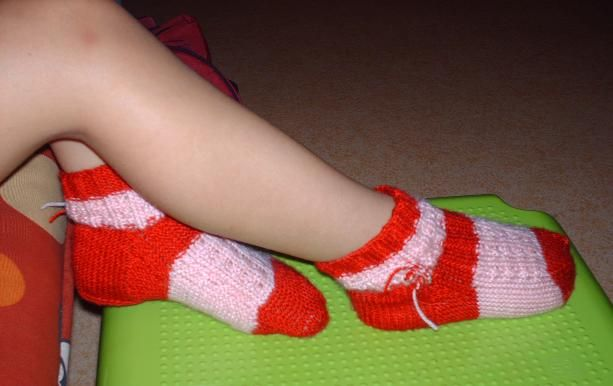 Chaussettes_rose_rouge2