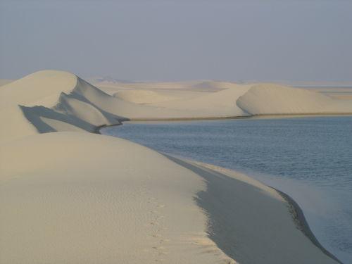 Dune et mer intérieure