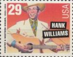 Timbre USA Hank Williams