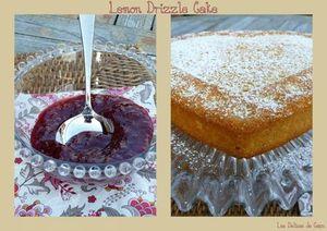 capu lemon drizzle cake