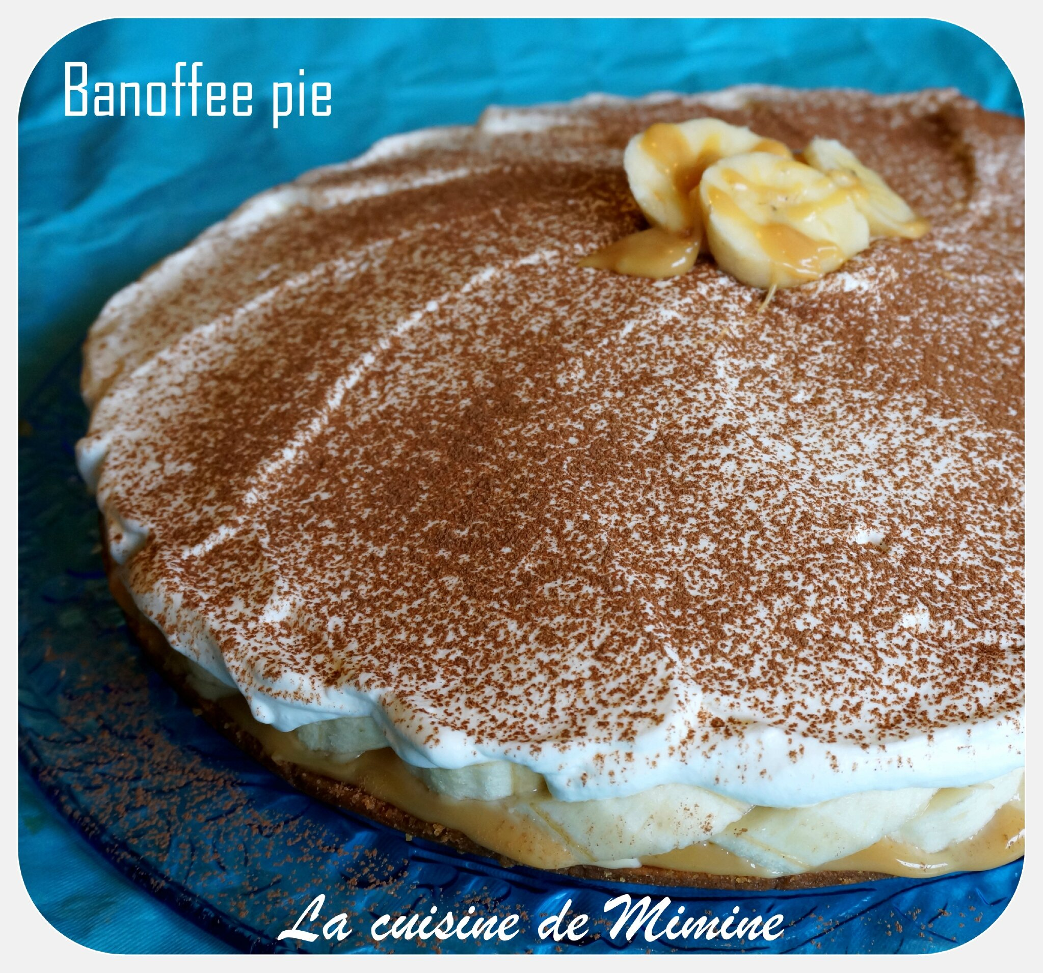 Gateau speculoos banane chantilly