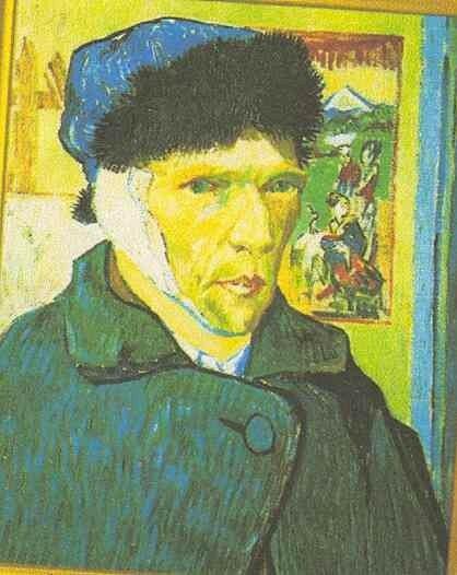 Expos sur van gogh de margaux ec general de gaulle - Vincent van gogh autoportrait a l oreille coupee ...