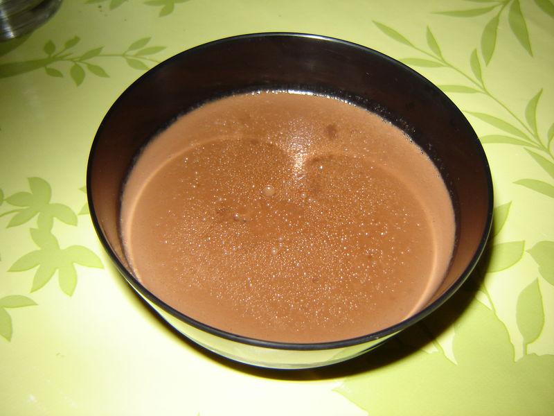 flan chocolat coco au lait de soja un peu de r 234 ve dans ma cuisine