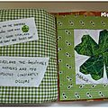 CARNET TEXTILE ...Mes pages de Mars 