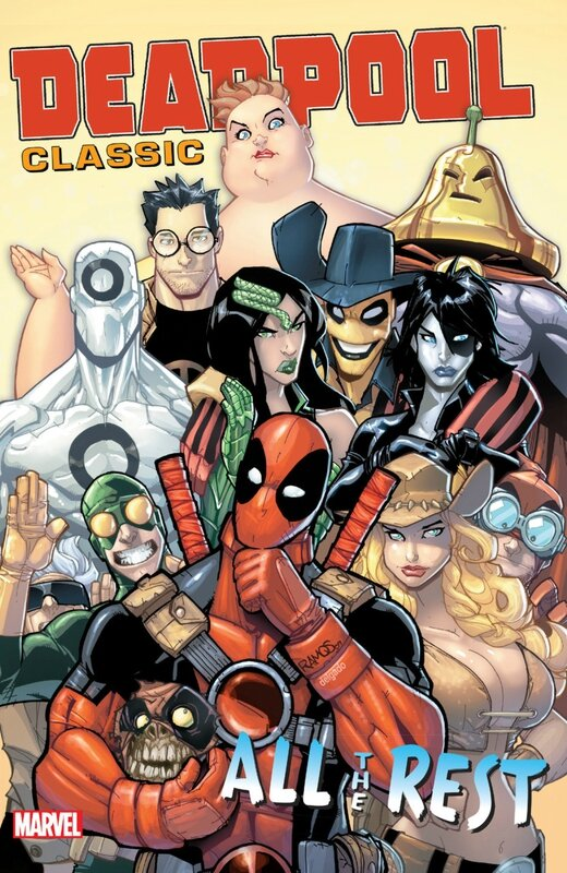 deadpool classic vol 15 all the rest TP
