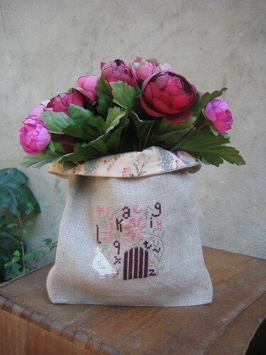 sac à bouquet