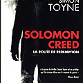 Solomon creed, la route de redemption