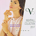 Nightfall collection 2017 - automne 2017
