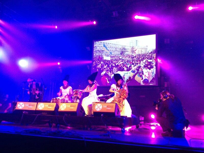 Rencontres Trans Musicales Rennes 2013 Dakhabrakha