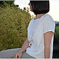 Broderie anglaise confortable { ♥ }