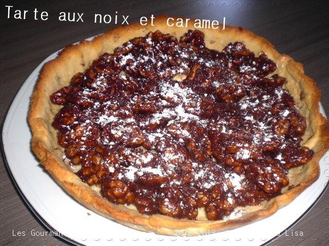 tarte aux noix et caramel1